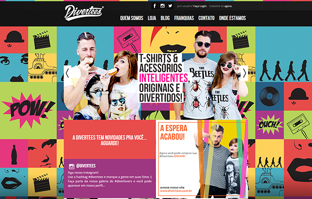 Desenvolvimento de sites - Divertees
